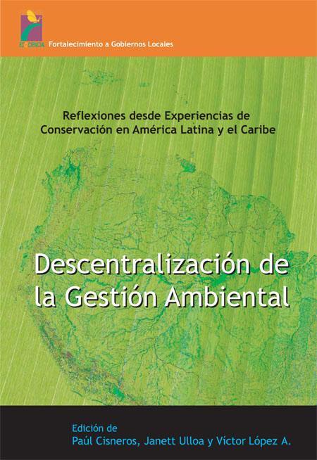 Descentralización de la gestión ambiental