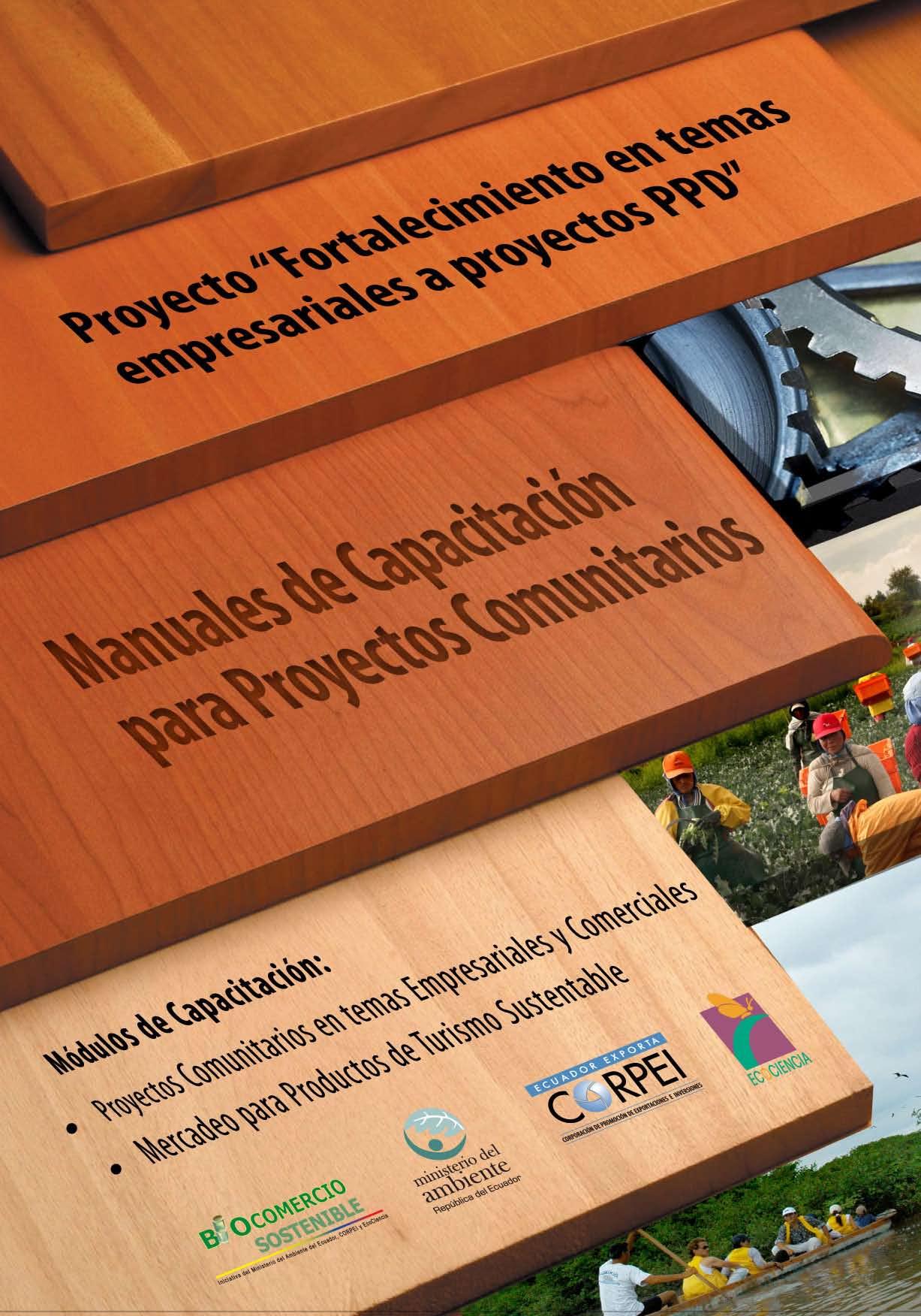 Manuales de capacitación para proyectos comunitarios