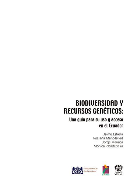 Biodiversidad y recursos genéticos