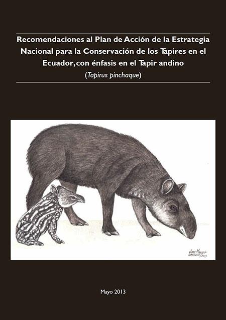 Recomendaciones al Plan de Acción de la Estrategia Nacional para la Conservación de los Tapires en el Ecuador, con énfasis en el tapir andino