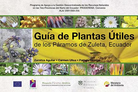 Guía de plantas útiles de los páramos de Zuleta