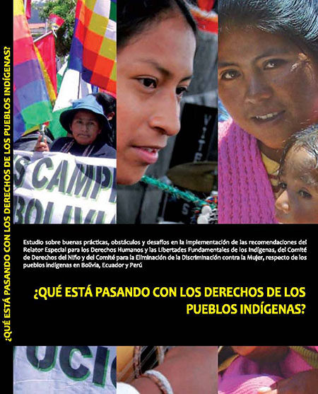 ¿Qué está pasando con los derechos de los pueblos indígenas?